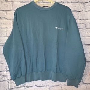 Vintage 90s Champion Spell Out Sweatshirt CrewNeck